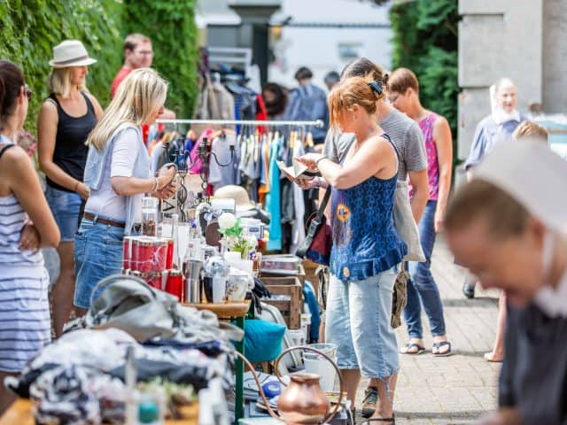 Rückblick Hofflohmarkt